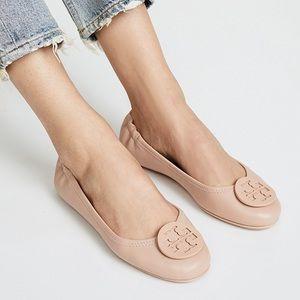 Tory Burch Nude Minnie Flats size 9.5